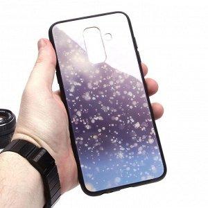 Глянцевый чехол для Samsung Galaxy A6+ (2018), арт.010695
