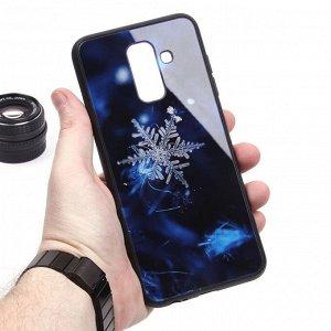 Глянцевый чехол для Samsung Galaxy A6+ (2018), арт.010696