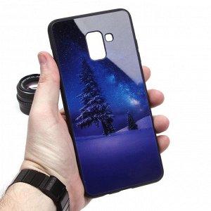 Глянцевый чехол для Samsung Galaxy A8+ (2018), арт.010689