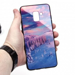 Глянцевый чехол для Samsung Galaxy A8+ (2018), арт.010690