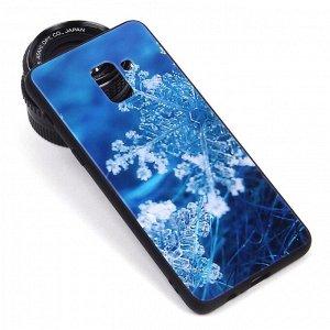 Глянцевый чехол для Samsung Galaxy A8+ (2018), арт.010691