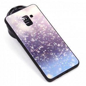 Глянцевый чехол для Samsung Galaxy A8+ (2018), арт.010695