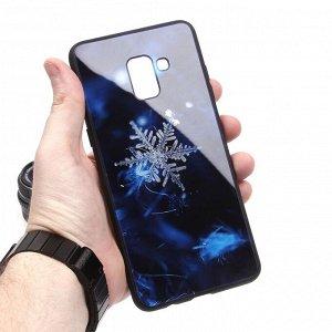 Глянцевый чехол для Samsung Galaxy A8+ (2018), арт.010696