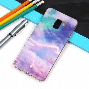 Матовый чехол для Samsung Galaxy A8+ (2018), арт.010732