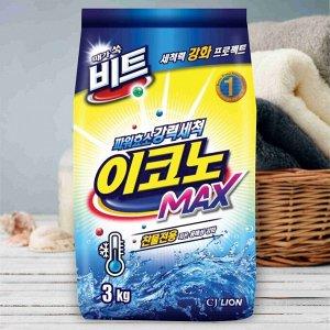 """LION Концентр. стир. порошок для ручной и автомат. стирки в холодной воде (все виды тканей) """"BEAT Econo Max"""", мягк. упак. 3 кг"""