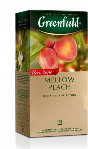 Чай Гринфилд Mellow Peach 1,8г 1/25/10, шт