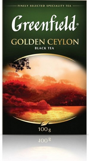 Чай Гринфилд Golden Ceylon 100г 1/14, шт