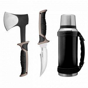 Набор походный Essentials, 3 предмета: топор, нож, термос
