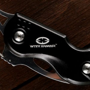 Нож складной с карабином WA-033BK