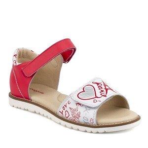 Туфли открытые для школьников девочек Материал: натур.кожа