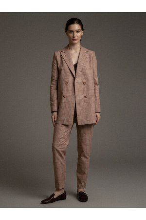 #101000 Жакет (Emka Fashion) бежевый