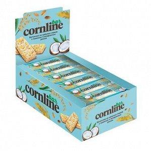 Батончик Cornline из цельных злаков с кокосом и воздушным рисом, 30 г