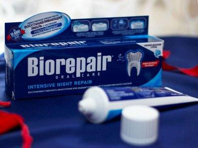 Зубные пасты BIOREPAIR, BLANX, OMG! , бальзамы EOS