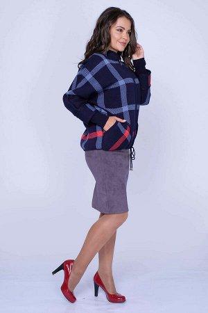 #100291 Жакет (Ankoli) темно синий