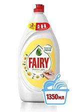 FAIRY Средство для мытья посуды Нежные руки Ромашка и витамин Е (1350 мл)