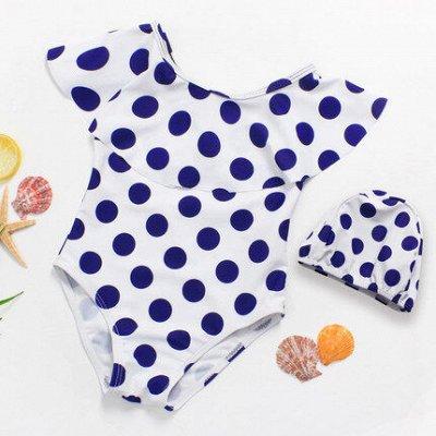 Яркие, звездные, пляжные! Летние товары по сниженным ценам!  — Детские купальники для девочек — Купальники