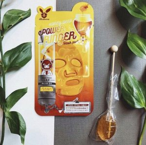 Питательная тканевая маска для лица с экстрактом мёда