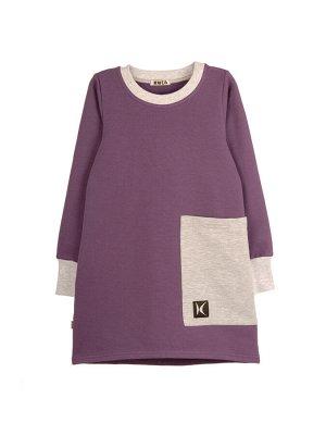 Платье 1054А1 лиловый