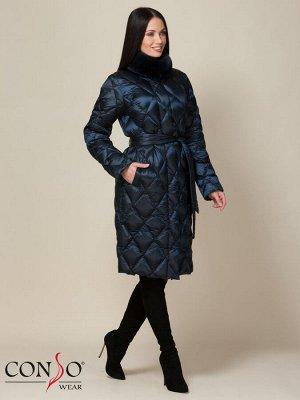 Пальто пуховое женское