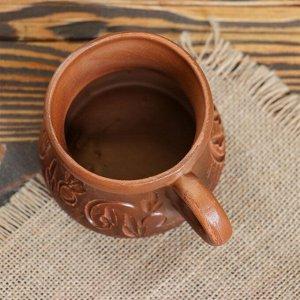 """Чашка """"Кофейная"""", декор, 0.2 л, микс"""