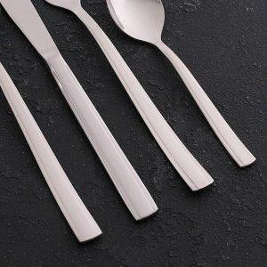 Набор столовых приборов «Торжество», 48 предметов толщина 2 мм, декоративная коробка