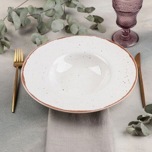 Тарелка для пасты Punto bianca, 500 мл, d=31 см