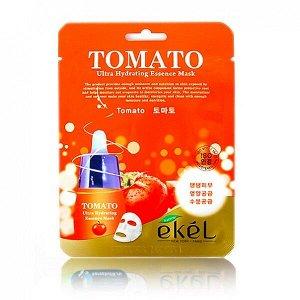 Тканевая маска с экстрактом томата Ekel Tomato Ultra Hydrating Essense Mask
