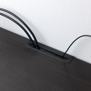 BESTÅ БЕСТО Тумба под ТВ, черно-коричневый120x40x64 см