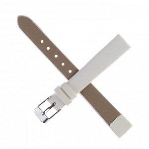 Ремешок для часов, 12 мм, 18 см, белый