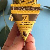 Сахарный скраб для лица  7 Days Secret Royal Black Sugar Scrub