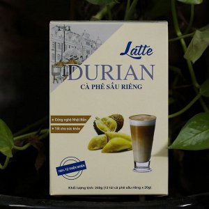 LATTE 3 in1 BAN COFFE дуриан 1 шт