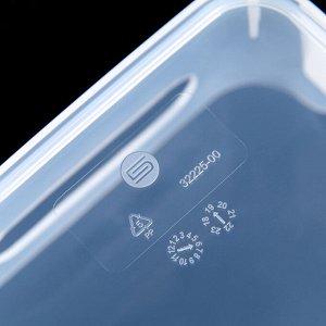 Корзина для хранения универсальная Scandi, 1,2 л, 17х12х7,5 см, цвет прозрачный