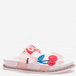 807528/01-01 розовый ПВХ женские туфли открытые