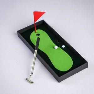 """Мини-гольф """"Настольный"""", набор для игры, 25х10 см"""