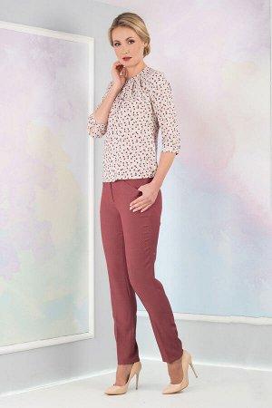 Брюки Сезон: летние. Модель: брюки. Цвет: бордовый. Комплектация: брюки. Состав: полиэстер-65%, вискоза-30%, лайкра-5%. Бренд: Business Line. Фактура: клетка.