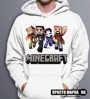 Толстовка с капюшоном Minecraft 3