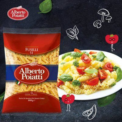 Alberto Poiatti-Италия на Вашем столе! Акция 3+1! Скидки 40% — МАКАРОННЫЕ ИЗДЕЛИЯ Alberto Poiatti Италия (Сицилия) — Макаронные изделия
