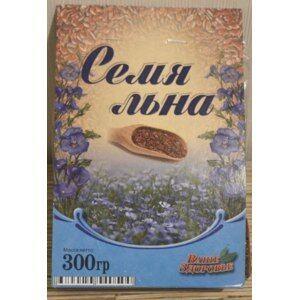 "Семена льна ""ВАШЕ ЗДОРОВЬЕ"" 300 гр./ 6 / 8 мес"