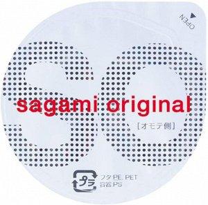 SAGAMI Original 0.02 мм - презервативы ультратонкие