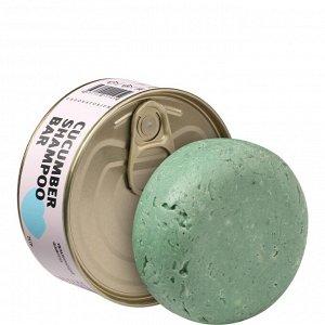 Твердый шампунь с огурцом (Cucumber Shampoo bar)