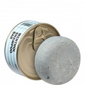Твердый ментоловый шампунь (Menthol Shampoo bar)