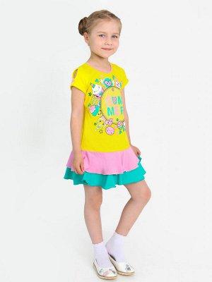 """Платье """"Аза-1"""" с шелкографией"""