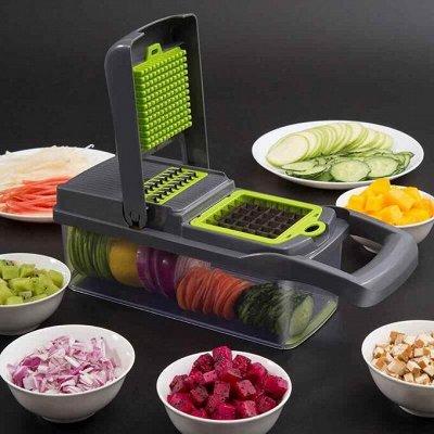 Удобная кухня💥 Сковородки AMERCOOK💥 Спецпредложение% — Многофункциональная тёрка c контейнером — Кухня