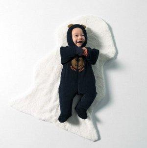 Утеплённый комбинезон для мальчика из вельвета BROWN BEARS | Bebetto | Турция |