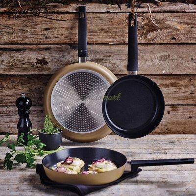Удобная кухня💥 Сковородки от 199 рублей!  AMERCOOK💥  №2 — Набор сковород - 3 штуки Fessle! — Сковороды