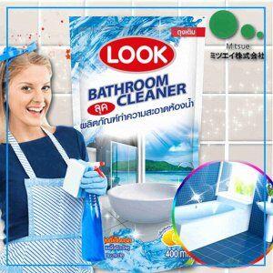LION Look Чистящее ср-во для ванной комнаты 400мл (мягк.уп.)