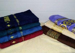 Престиж бордюр жаккард полотенце махровое