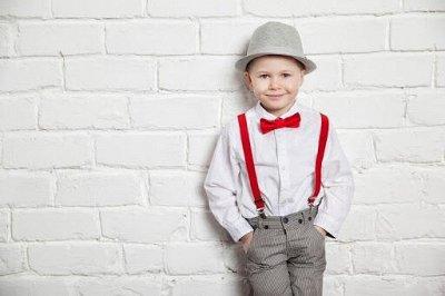 100% Хлопок! Уютный трикотаж для всей семьи!  — Рубашки, галстуки, бабочки детские — Галстуки и бабочки