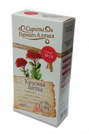 Сироп Горный №19 Красная щетка, корень 250 мл