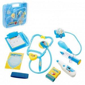 Игровой набор доктора «Учимся лечить», в чемодане